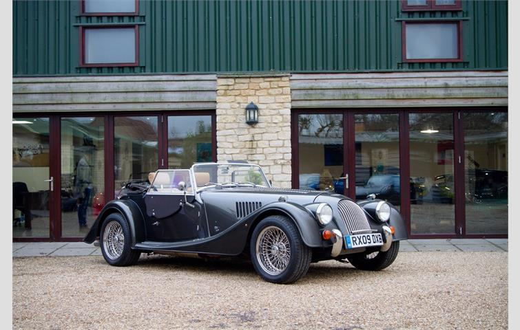 Make: Morgan, Model: Roadster V6, Colour: Silver, Year: 2009, Mileage: 31,121, Fuel: Petrol, Transmission: Manual, Body Type: Convertible, Price: £38,995, Advert ID: 10016024
