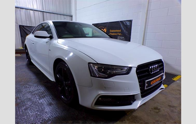 Make: Audi, Model: A5, Colour: White, Year: 2012, Mileage: 71,800, Fuel: Diesel, Transmission: Manual, Body Type: Coupe, Price: £9,250, Advert ID: 10185843