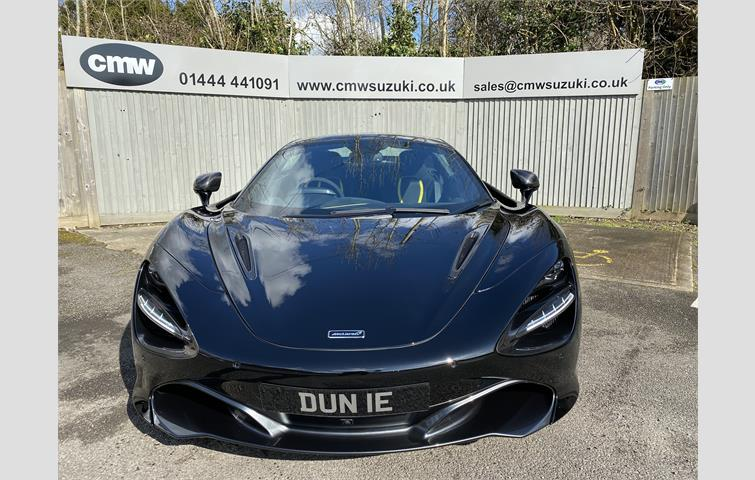 Make: Mclaren, Model: 720, Colour: Black, Year: 2019, Mileage: 694, Fuel: Petrol, Body Type: Coupe, Price: £249,999, Advert ID: 10272025
