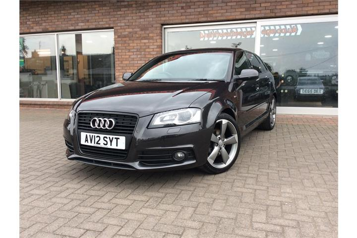 AUDI A3 2.0 TDI BLACK EDITION 5DR [START STOP]