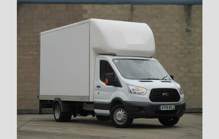 c677e34e96 Ford Transit 2.2 TDCi 125ps Luton White 2015
