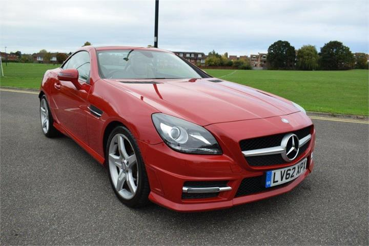 MERCEDES SLK SLK 200 BLUEEFFICIENCY AMG SPORT 2DR TIP AUTO