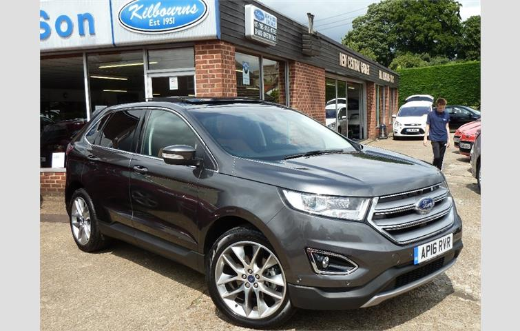 Ford Edge   Tdci Titanium Lux Pack Station Wagon Powershift Awd Dr Start Stop Grey