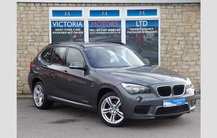 BMW X1 XDRIVE18D M SPORT 4X4 Grey 2014