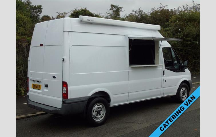 a92ea23009 FORD TRANSIT T350 2.4TDCI 115BHP LWB HIGH ROOF  CATERING SERVING SNACK DISPLAY