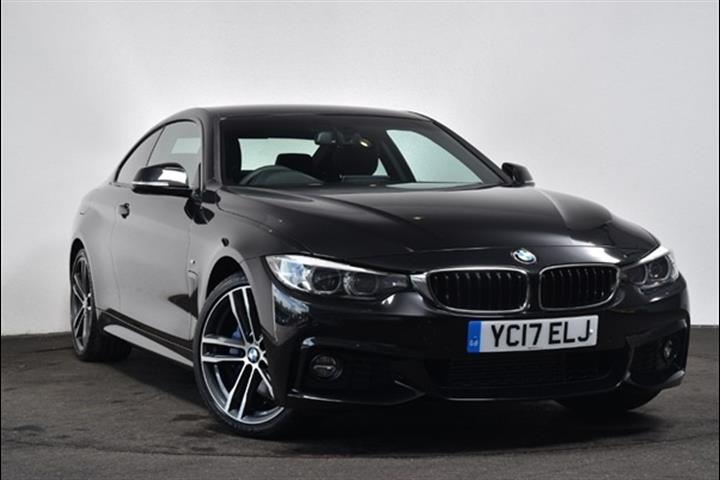 Bmw 4 Series 2017 2 0 L Sel Engine With Automatic Transmission Coupe In Black