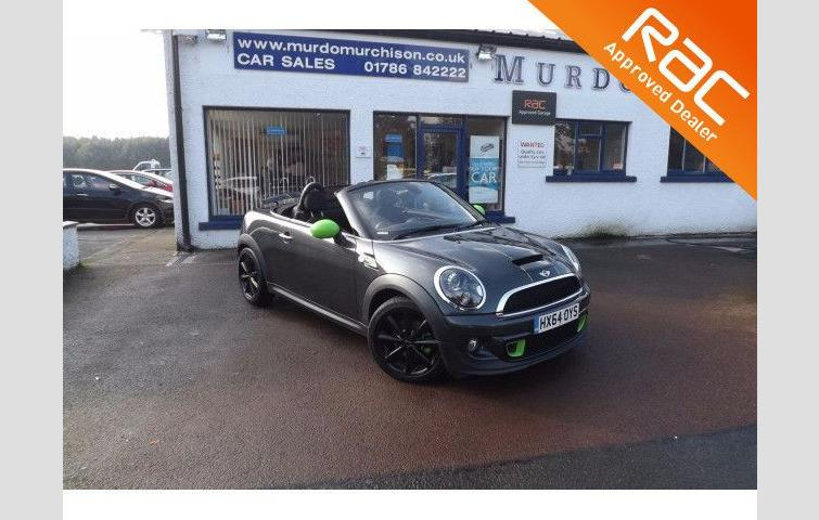 Mini Roadster 20 Cooper Sd 2d Auto 141 Bhp Grey 2014 Ref 4007141