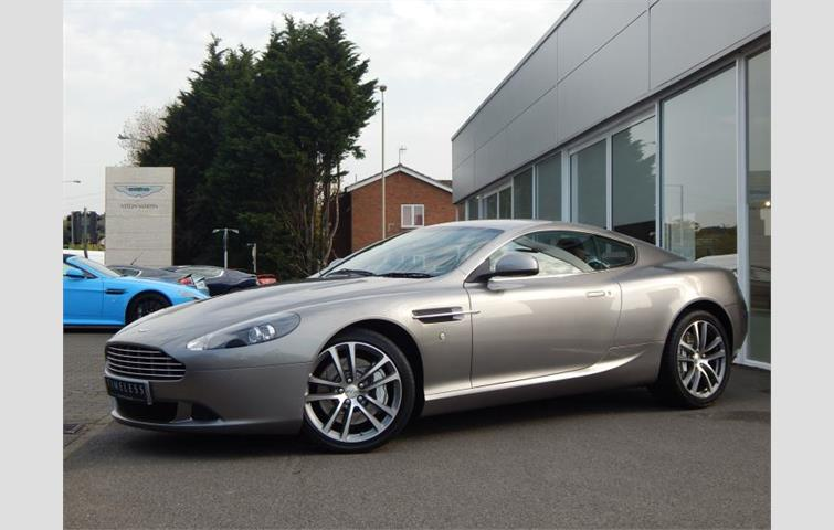 aston martin db9 v12 2dr touchtronic 470 silver 2011 | ref: 4113756