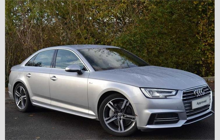Audi A4 Saloon 3.0 TDI V6 218 PS S Line Unlisted 2016