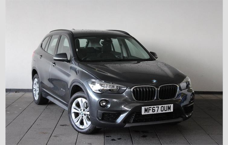 BMW X1 2017 20 L With Automatic Transmission Hatchback In Grey Colour 7492