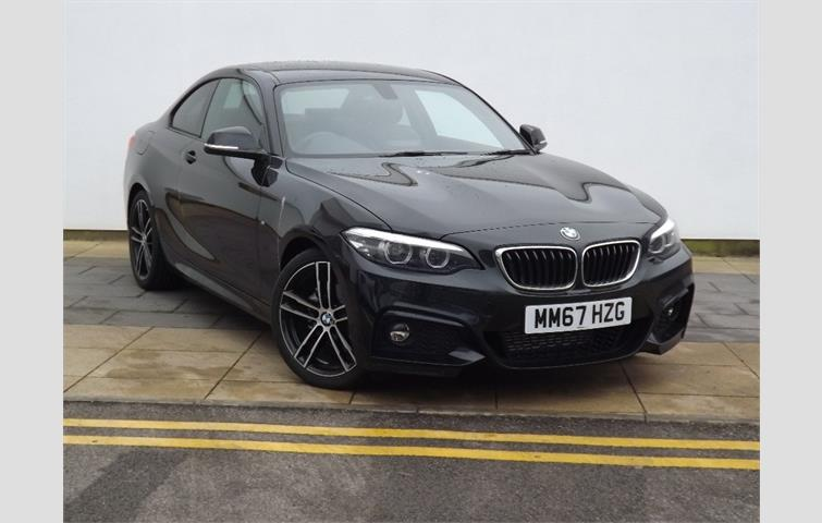 BMW 2 Series 2017 20 L With Automatic Transmission Coupe In Black Colour