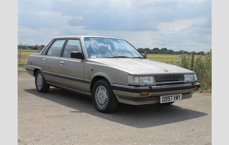 Make: Toyota, Model: Camry, Colour: Beige, Year: 1986, Mileage: 106,000, Fuel: Petrol, Transmission: Automatic, Body Type: Saloon, Price: £9,995, Advert ID: 4766059