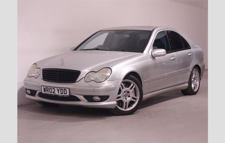 mercedes c32 amg sat nav leather parking sensors sunroof stunning Mercedes C200 2003 mercedes c class 2002 3 2 l petrol engine with automatic transmission saloon in silver