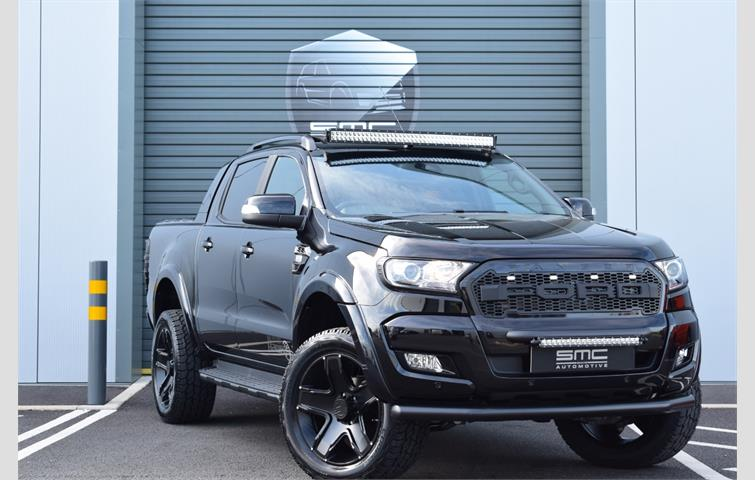 Ford Ranger 2018 >> Ford Ranger Ranger Wildtrak 3 2 Tdci Auto Smc Hawk Edition Black 2018 Ref 4880509