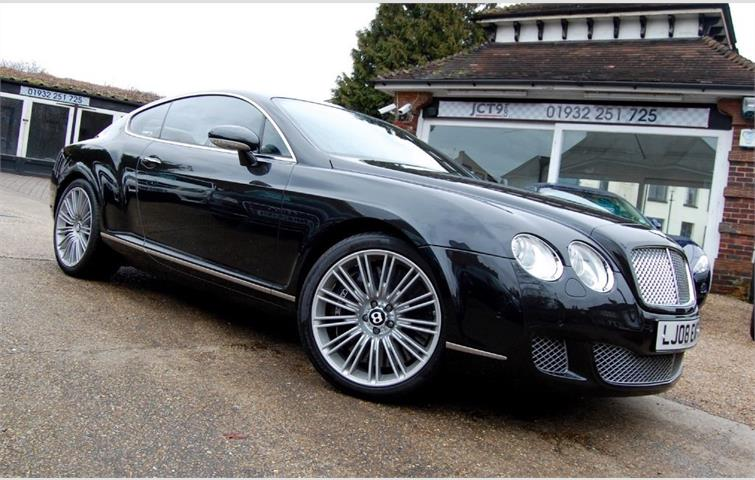 Bentley Continental Gt Speed Ultimate Colour Combo Black 2008 Ref