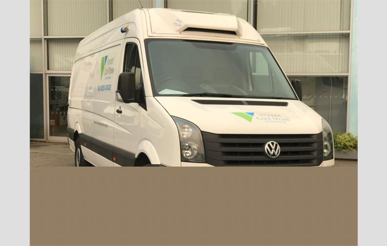 20b54c31b4 VOLKSWAGEN CRAFTER CR35 DUAL COMPARTMENT REFRIGERATED VAN 2.0tdI ...