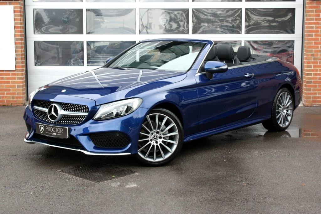 Bad Credit Car Dealers >> Mercedes C220 d AMG Line Premium Plus Cabriolet 9GTronic Plus 4MATIC 2dr start/stop Blue 2017 ...
