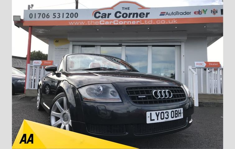 Audi Tt Roadster Quattro 2dr Black Used Cars Greater Manchester