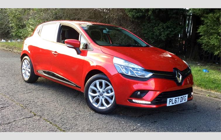 Bad Credit Car Dealers >> Renault Clio 1.2 16V Dynamique Nav 5dr Red 2018 | 5002861