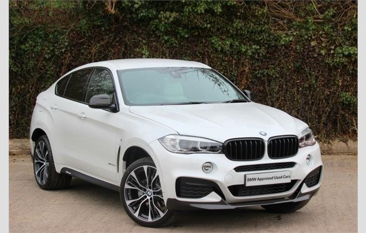 bmw x6 x6 xdrive30d m sport white 2018 ref 5004256. Black Bedroom Furniture Sets. Home Design Ideas