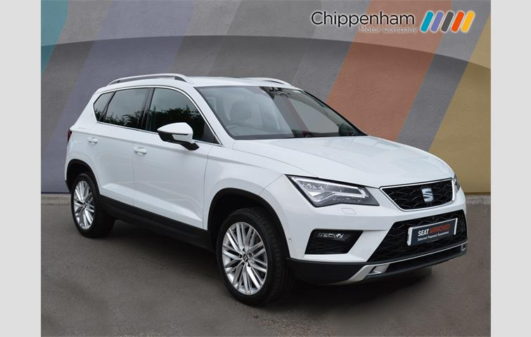 seat ateca 2 0 tdi xcellence 5dr dsg 4drive white 2018. Black Bedroom Furniture Sets. Home Design Ideas