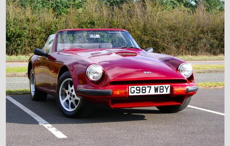 Tvr S2 2 9 2dr Red 1989 Ref 5077136