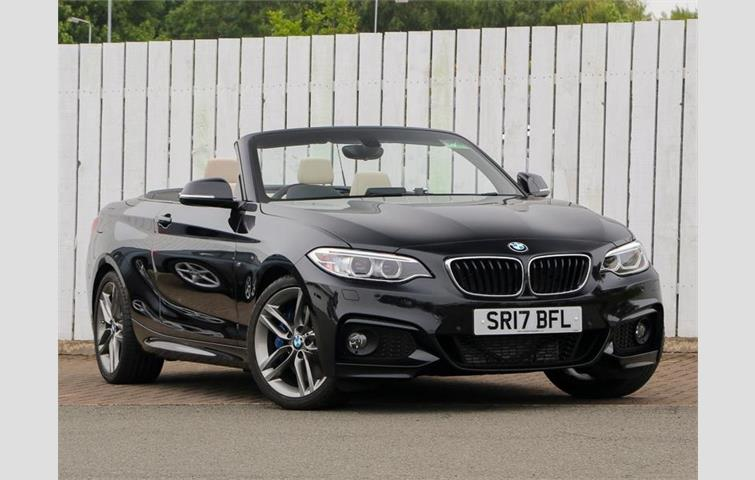 Model BMW 2 Series Colour Black Year 2017 Mileage