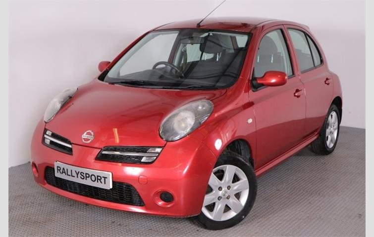 NISSAN MICRA ACTIV LIMITED EDITION RED Red 2006 | 5120861