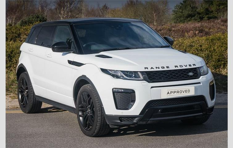 Land Rover Range Evoque 2017 Sel Engine With Automatic Transmission Estate In White