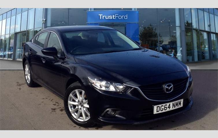 Mazda 6 2014, 2.0 L Engine With Manual Transmission, Saloon In Black Colour  With