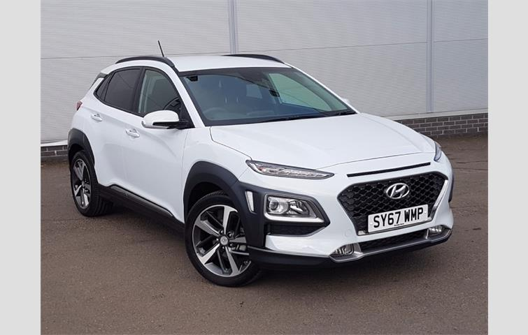 hyundai kona 1 0t gdi blue drive premium 5dr white 2017 ref 5302983. Black Bedroom Furniture Sets. Home Design Ideas