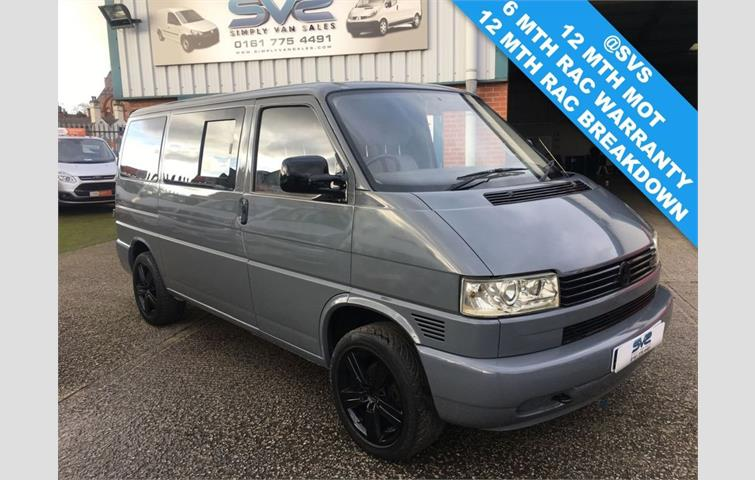 Volkswagen Transporter 2 5 Tdi 5 Cylinder Engine In Pure