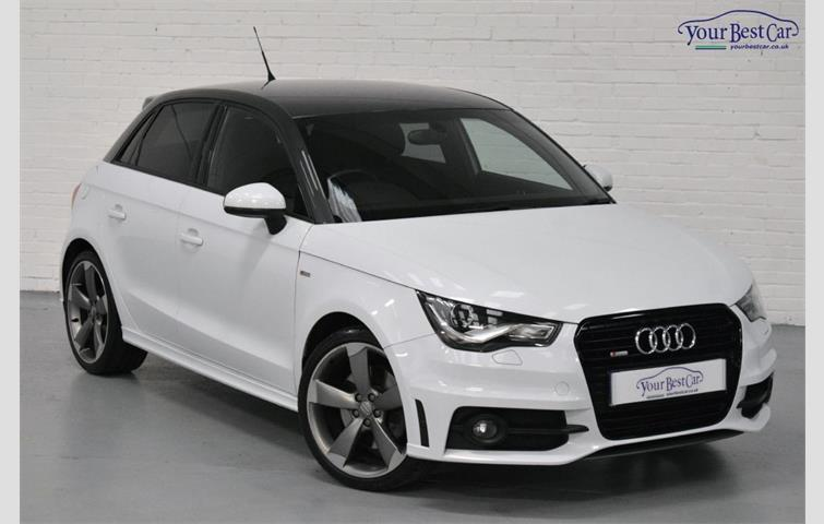 Audi A1 Sportback Tdi S Line Black Edition Black Pack Contrast Roof Bose White 2013 Ref 5323808