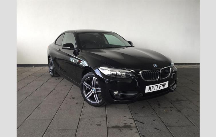 BMW 2 Series 2017 15 L With Automatic Transmission Coupe In Black Colour