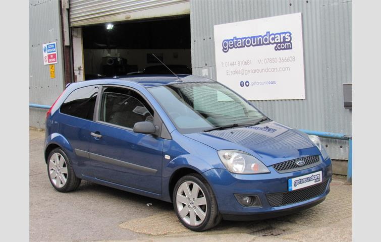 Ford Fiesta 1 4 Tdci Zetec Climate 3dr Blue 2006 Ref 5442470