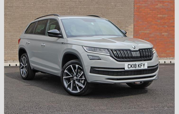 Car Apr Calculator >> Skoda KODIAQ 2.0 TSI 180 BHP 4x4 SPORTLINE 7 SEAT DSG Grey 2018 | 5477613