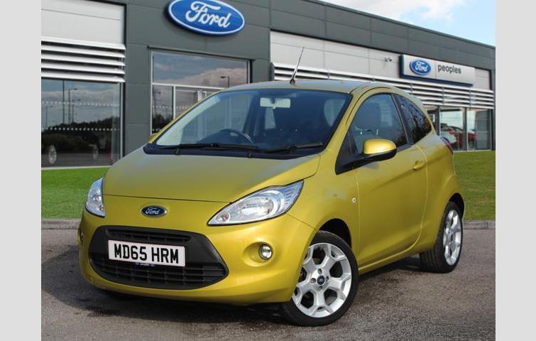 Ford Ka  L With Manual Transmission Hatchback In Yellow Colour With
