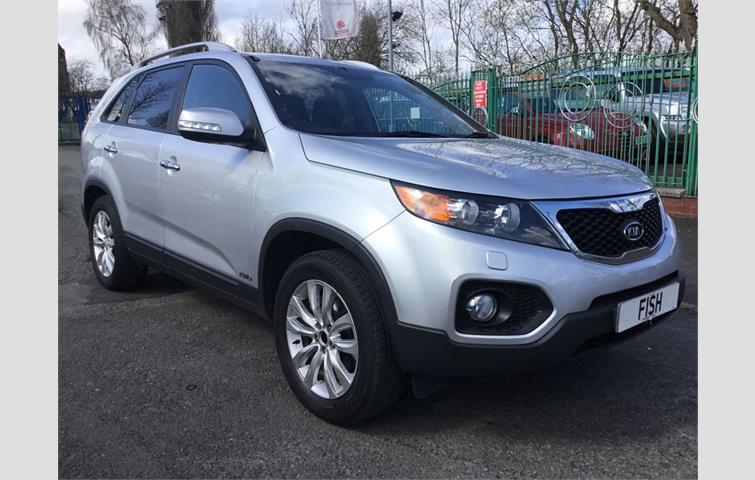 Make: Kia, Model: Sorento, Colour: Silver, Year: 2011,