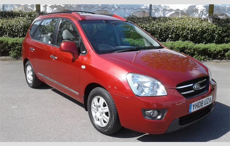 Kia Carens Gs Crdi Red 2008 Ref 5531751