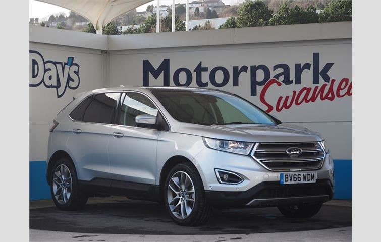 Ford Edge  L With Manual Transmission In Silver Colour With  Miles