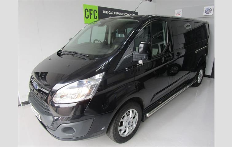 2438aa2b11 Ford Transit Custom 2.2 TDCi 270 L1H1 Limited Black Edition with 18 Alloy  wheels