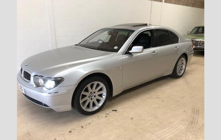 Model BMW 7 Series Colour Silver Year 2003 Mileage
