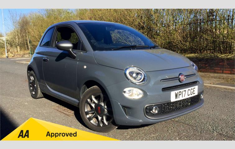 Fiat 500 1.2 S 3dr Grey 2017