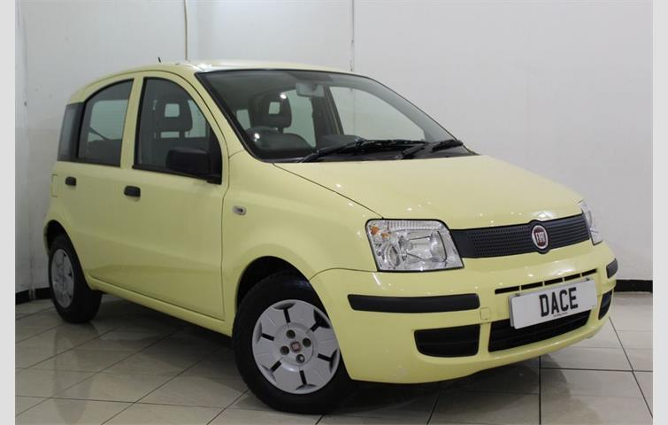 fiat panda 1 1 active eco 5dr 54 bhp yellow 2009 ref 5637644. Black Bedroom Furniture Sets. Home Design Ideas