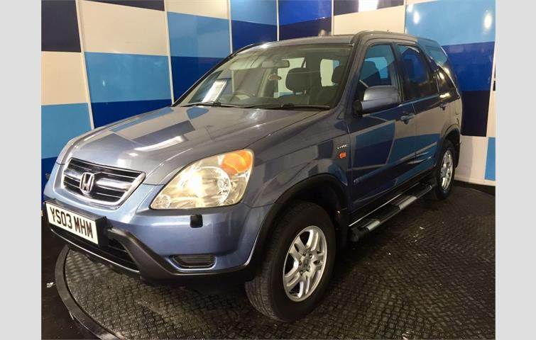 Make: Honda, Model: Cr V, Colour: Blue, Year: Manufacturing Year. 2003.  Miles