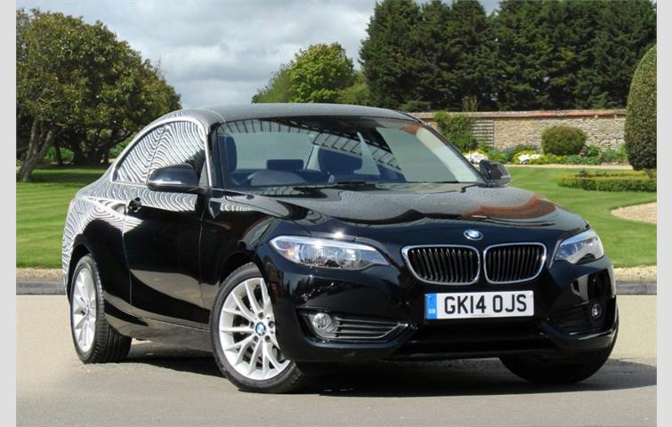 Make BMW Model 2 Series Colour Black Year 2014