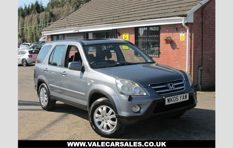 Make: Honda, Model: Cr V, Colour: Grey, Year: Manufacturing Year. 2005.  Miles