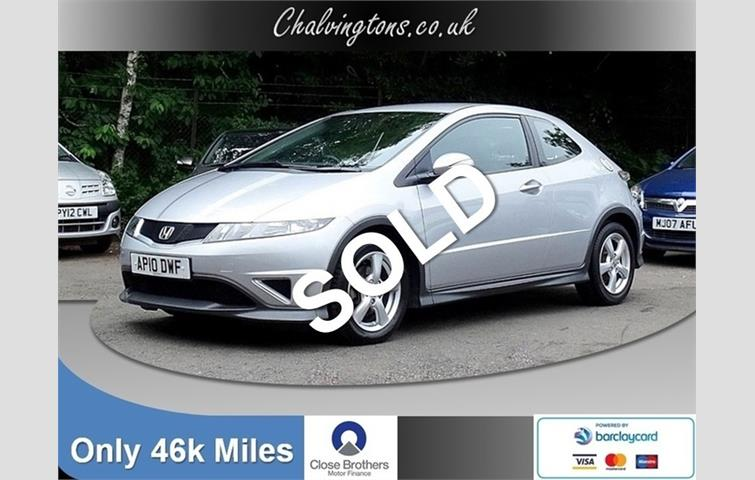 Honda Civic 1.4 IVTEC Type S ISHIFT 6 SPEED 3DR, Low Mileage, Low  Insurance, 48 MPG
