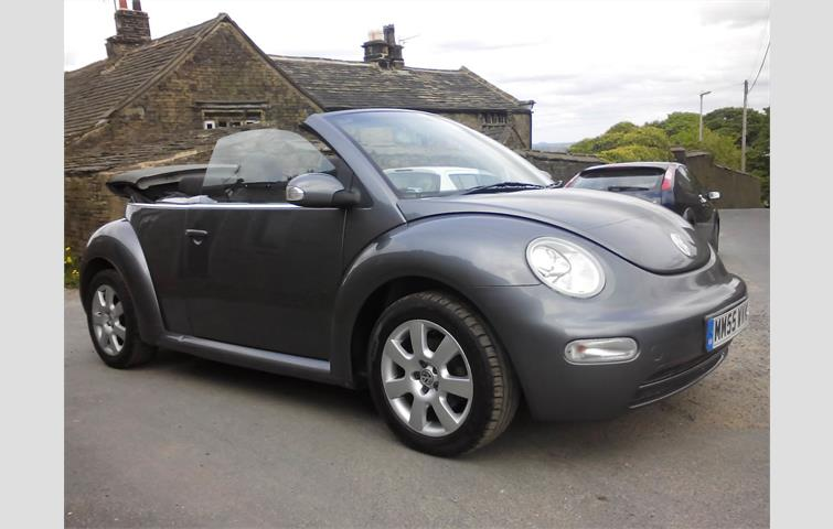 2005 volkswagen beetle manual