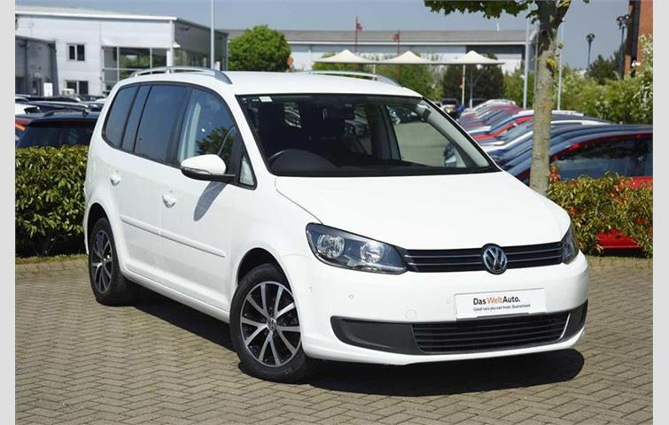 Volkswagen Touran 1.6 TDI SE 105PS White 2014 | Ref: 5833759